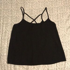 Abercrombie&Fitch Black Tank Top Size Small